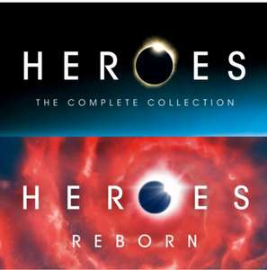 Heroes complete series + reborn on google play - £15.99