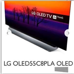 LG C8 LGOLED55C8PLA OLED (2018 Model) HDR 4K Ultra HD Smart TV £2,699 (after £300 Lg Cashback offer) @powerdirect.co.uk