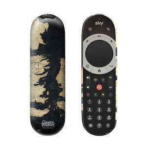 Sky Q/ Sky HD  Remote Control covers -inc Game of Thrones Below Half Price £6.99 at Sky Accessories + £1 delivery