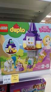 Rapunzel / Tangled disney princess Duplo / Lego play set - tesco instore - £12.50