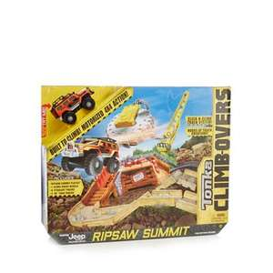 Tonka climb- overs ripsaw summit jeep playset £7 was £35 @ Debenhams