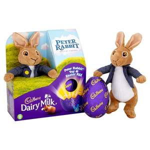 Peter rabbit Easter egg w/ Peter Rabbit toy at Tesco for £4