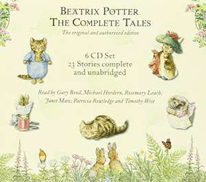 Beatrix Potter The Complete Tales (Boxed Set) Audio CD – Audiobook, CD, Unabridged - £13.91 @ Amazon