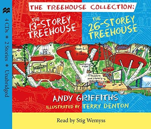 The 13 Storey & 26 Storey Treehouse CD set Audio CD - £8.99 (Prime) £11.98 (non Prime) @ Amazon