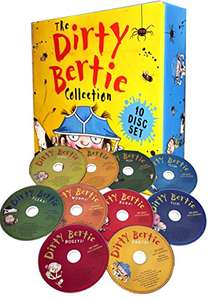The Dirty Bertie Audio Collection 10 CDs Box Set By David Roberts and Alan Macdonald - £12.99 Delivered @ Amazon / Sold by Lowplex
