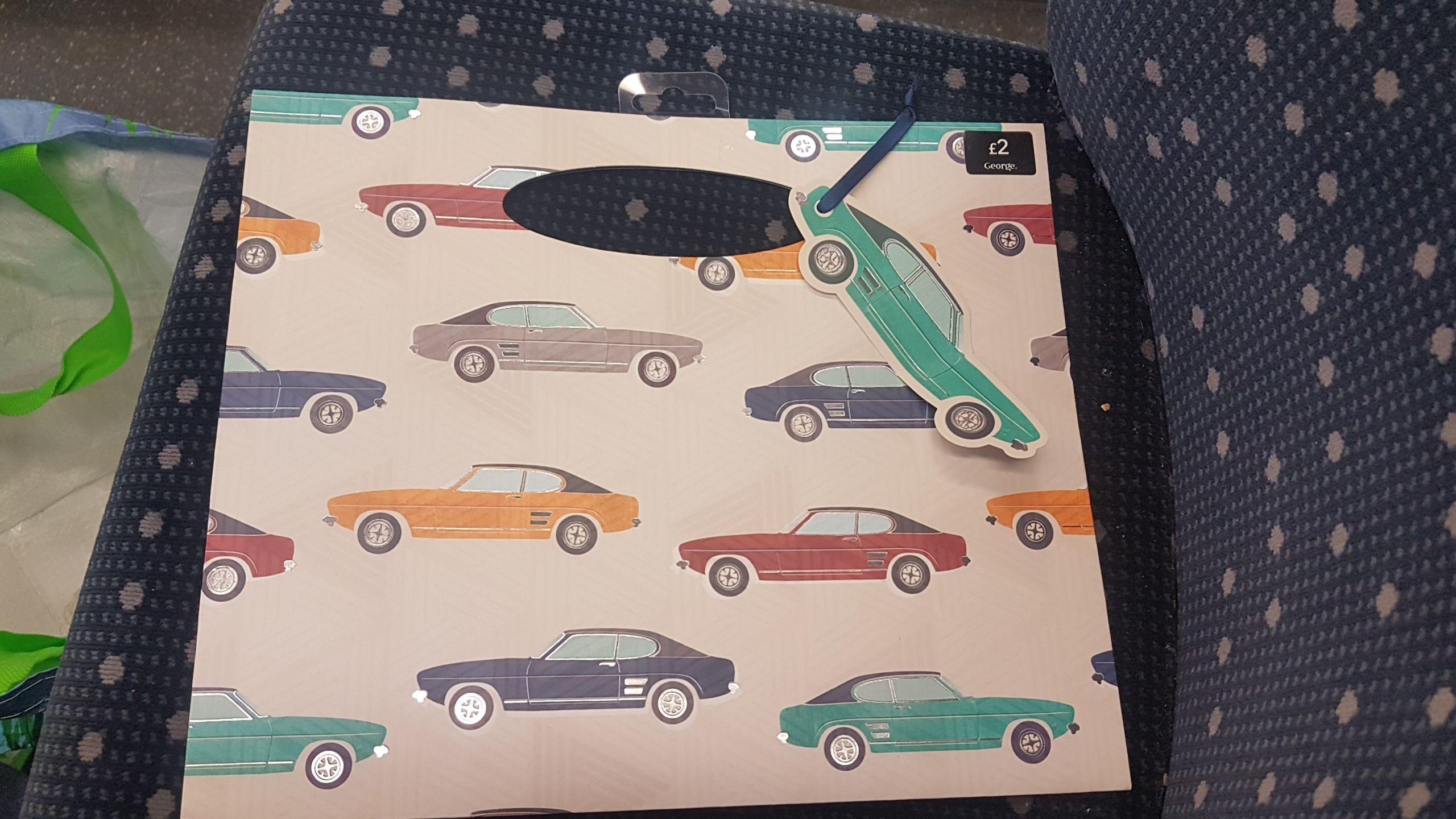 Asda gift bags 20p instore