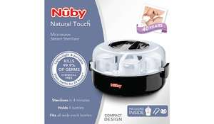 Nuby natural touch microwave steriliser £15 was £29.99 @ Asda
