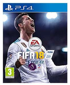 FIFA 18 PS4 - £23.39 @ AMAZON + FREE UK DELIVERY