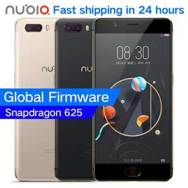 "Original ZTE Nubia M2 4G LTE Snapdragon 625 Octa Core 5.5"" 1080P 4G RAM 64GB ROM 16.0MP Camera 3630mAh Battery Mobile Phone @ Nubia AliExpress"