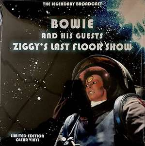 David Bowie - Ziggy's Last Floor Show vinyl LP + 2 others  [Sold by Coda Records and Fulfilled by Amazon] - £9.99 (Prime) £11.98 (Non Prime)
