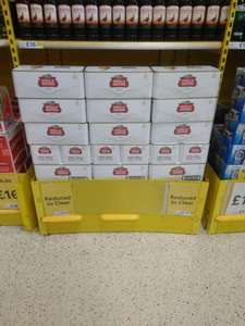 Glasgow Maryhill Tesco 18 Cans of Stella for £9.91