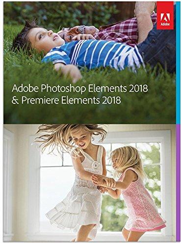 Adobe Photoshop Elements 2018 & Premiere Elements 2018 - Amazon - £81.34