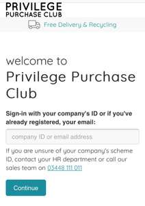 Whirlpool & Indesit Free Shipping @ Privilege Purchase Club