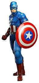 Marvel Comics Avengers Now Captain America Artfx Statue £2.50 @ GAME