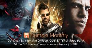 $20 (£14.3) Humble Bundle Wallet Credit with 12-Month subscription