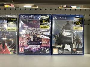 Agent of mayhem and others - £2 instore @ Poundland