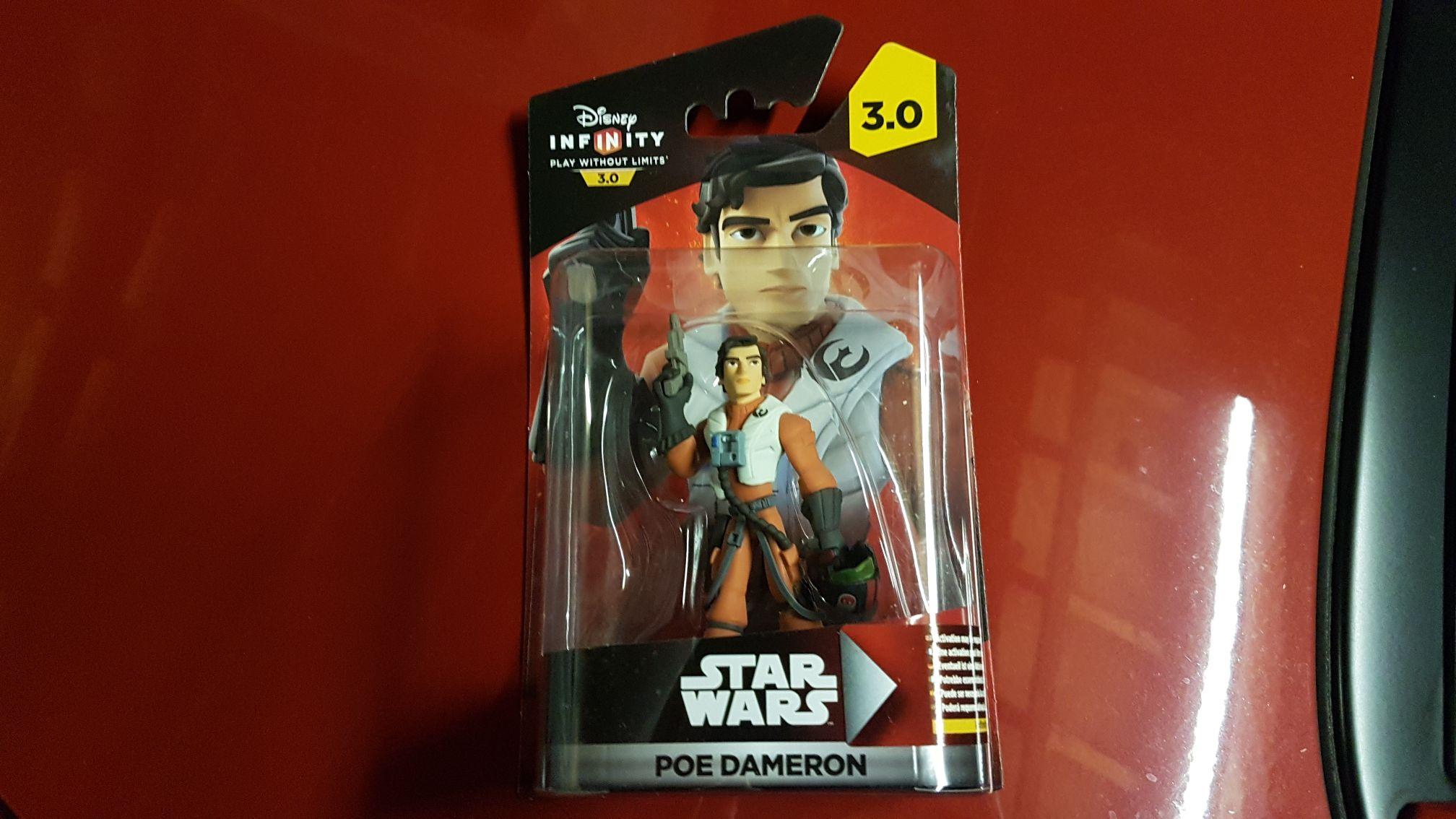 Disney infinity Poe Dameron £2 instore @ Poundland (Epsom)