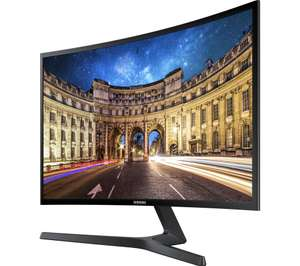 "SAMSUNG C27F396 Full HD 27"" Curved LED Monitor + 2 year guarantee and Free delivery £159.99 @ Currys"