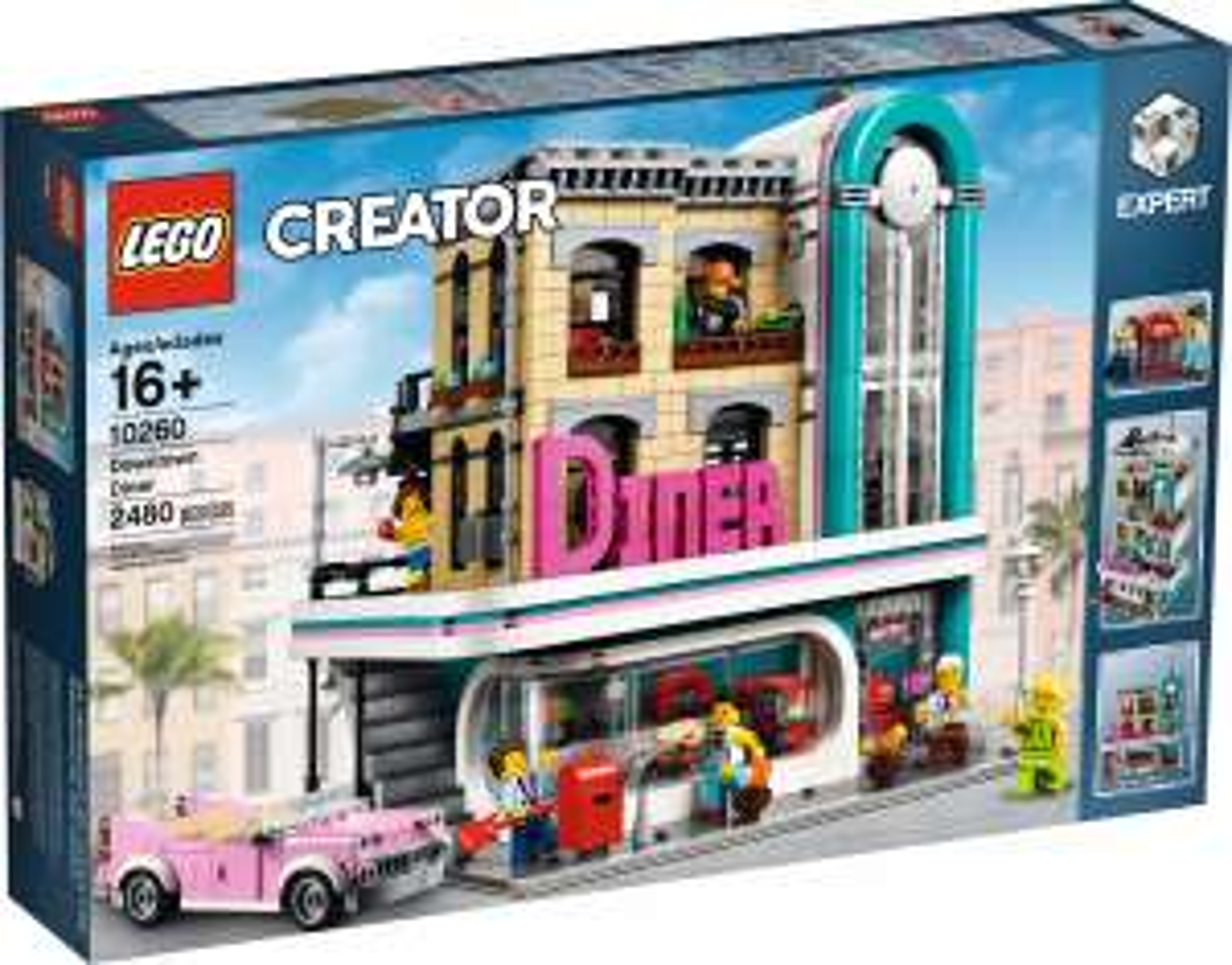 Lego 10260 Downtown Diner - £103.99 instore @ Smyths