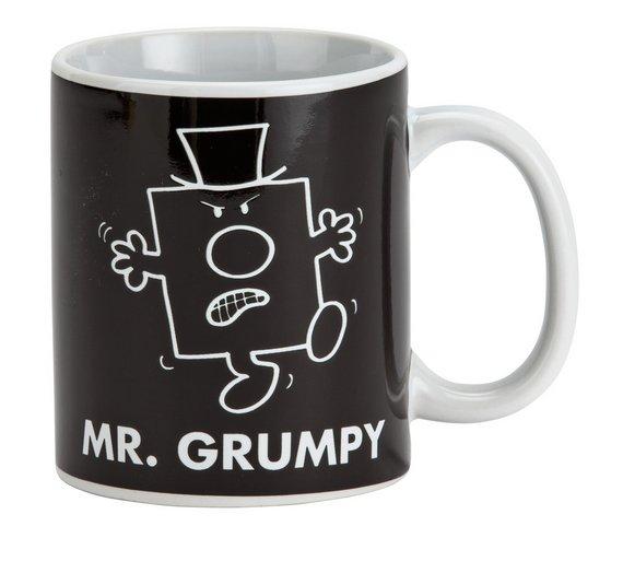 Mood changing heat reveal mug,Mr Men grumpy \ happy or Little miss bossy \ sunshine £3.49 @ Argos