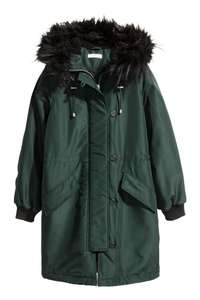 H&M parka only £14.99 with free delivery for club members