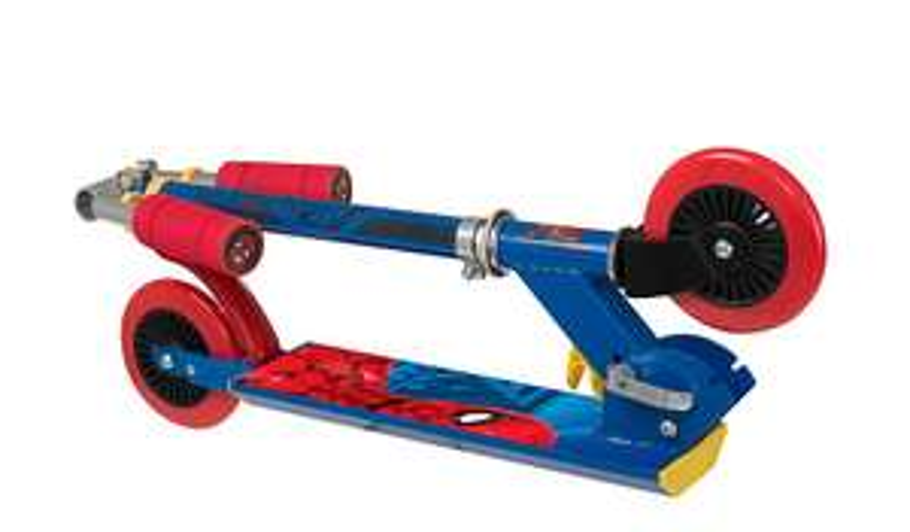 Spider man inline folding scooter £18 @ Asda