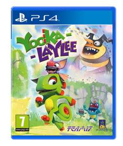 Yooka-Laylee PS4 £8.99 Prime (£10.98 non Prime) @ Amazon