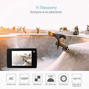 YI Action Camera 4K Wifi 16 MP Sports Cam - £35.99 @ amazon - Sold by Seeverything UK and Fulfilled by Amazon.