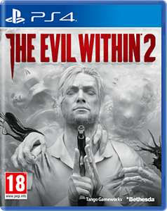 The Evil within 2 ps4 and xbox £13.49 at Game