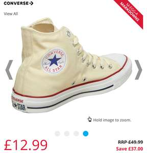 Unisex (Youths) converse trainers reduced to £12.99 @ M&M Direct more ladies Converse £12.99 plus £4.49 p&p