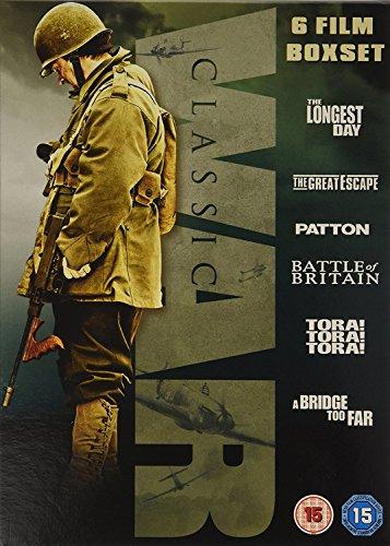 Classic War Box Set [DVD] 6 MOVIES £9.19 prime / £12.98 non prime @ Amazon