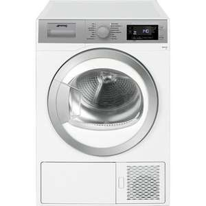 Smeg 8kg Freestanding Heat Pump Tumble Dryer £285 @ Appliances direct