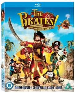 The Pirates! In an Adventure with Scientists [Blu-ray] [2012] [Region Free] £3.69 prime / £5.68 non prime @ Amazon