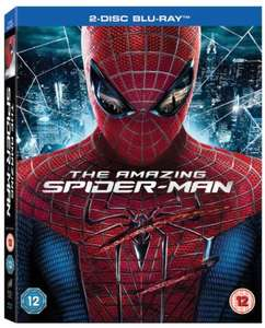 The Amazing Spider-Man (Blu-ray) [2012] [Region Free] 2 DISK £2.88 prime / £3.87 non prime Sold by Bee-Entertained and Fulfilled by Amazon