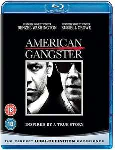 American Gangster [Blu-ray] [2007] [Region Free] £4.65 prime / £6.94 non prime Sold by Not2day Media and Fulfilled by Amazon