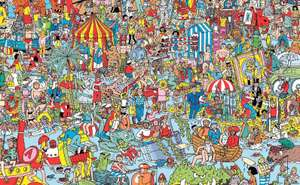 Where's Wally free on Google maps PC/mobile