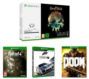 Xbox One S (1TB) with Sea of Thieves + Forza Motorsport 7+ Fallout 4 + DOOM - Only £229 @ Currys