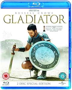 GLADIATOR  [Remastered] [Blu-ray] [2000] [Region Free] 2 DISK Used - Very Good £4.74 delivered dispatched and sold by OnlineMusicFilmsGames - Amazon