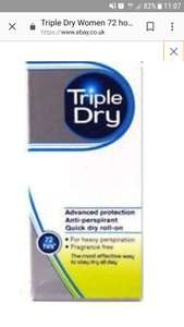 Tripledry deo stick. Huge reduction? 49p @ Home bargains