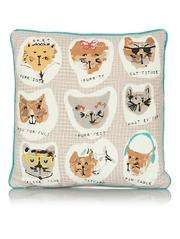 Cats 43 x 43 cms cushion pad & cover complete £3.50 @ Asda