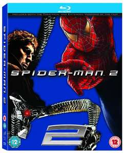 Spider-Man 2 [Blu-ray] [2004] [Region Free] £3 Prime / £4.99 Non Prime - Sold by MusicnMedia and Fulfilled by Amazon