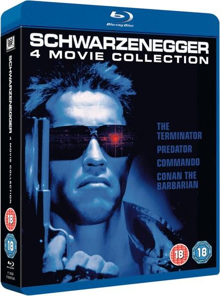Arnold Schwarzenegger Box Set Blu-ray £16.98 delivered @ Zavvi