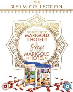 The Second Best Exotic Marigold Hotel 1-2 Box Set Blu-ray £10.98 delivered @ Zavvi