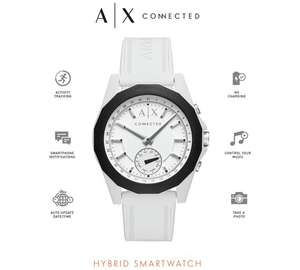 Armani Exchange Connected White Silicone Hybrid Smart Watch £85.99 @ Argos