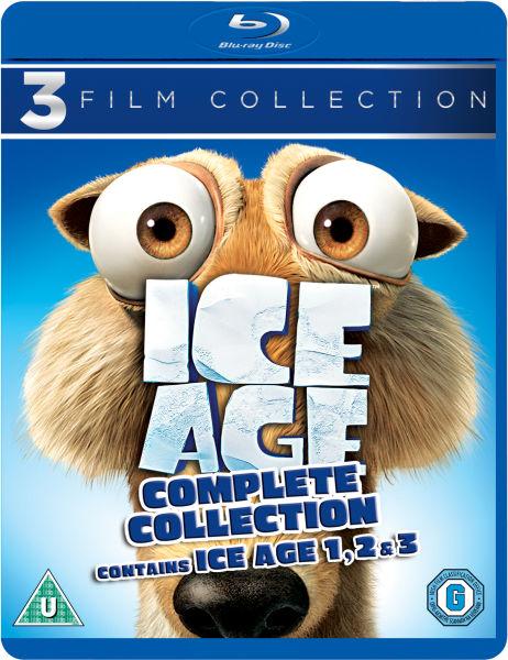 Ice Age / Ice Age 2: The Meltdown / Ice Age 3 Dawn of the Dinosaurs BLU RAY BOX SET £11.99 (+99p del) @ Zavvi
