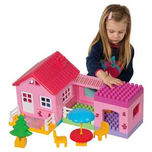 Build Your House Building Blocks Playset £8 @ Smyths