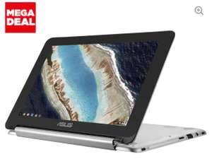 "ASUS C101PA-FS002 10.1"" Touchscreen Chromebook Flip (Silver) - £199.99 + Free Delivery / C&C @ Currys & PC World + £20 voucher with orders over £150 via VoucherCodes"