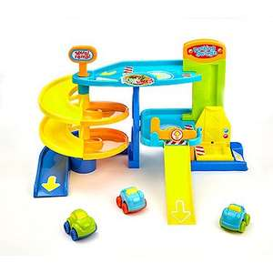 Busy Whizzy Wheels Park and Drive Garage Playset £12 - free c&c @ The entertainer