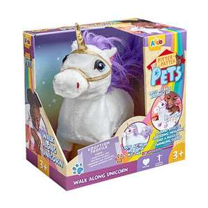 Pitter Patter Pets Walking Unicorn £12.50 @ The Entertainer