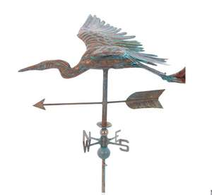 Copper-tone stork weather vane £129.99 delivered @ Tkmaxx